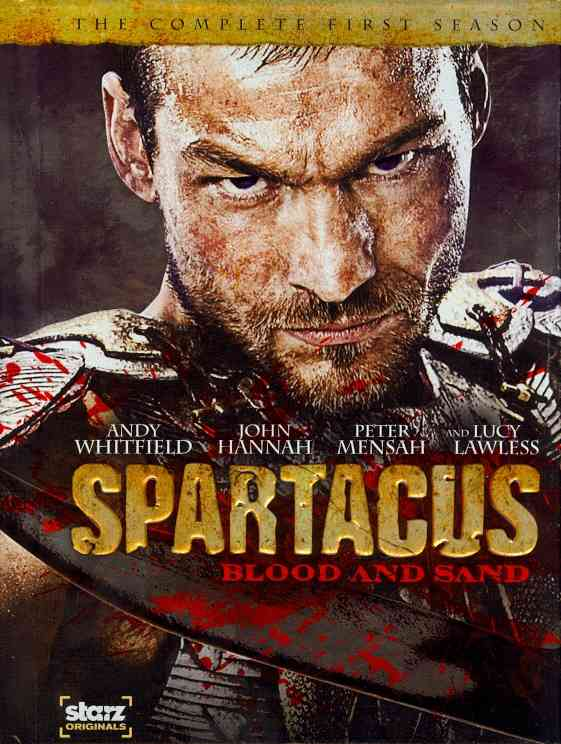 SPARTACUS:BLOOD AND SAND SEASON 1 BY TAPERT,ROB (DVD)